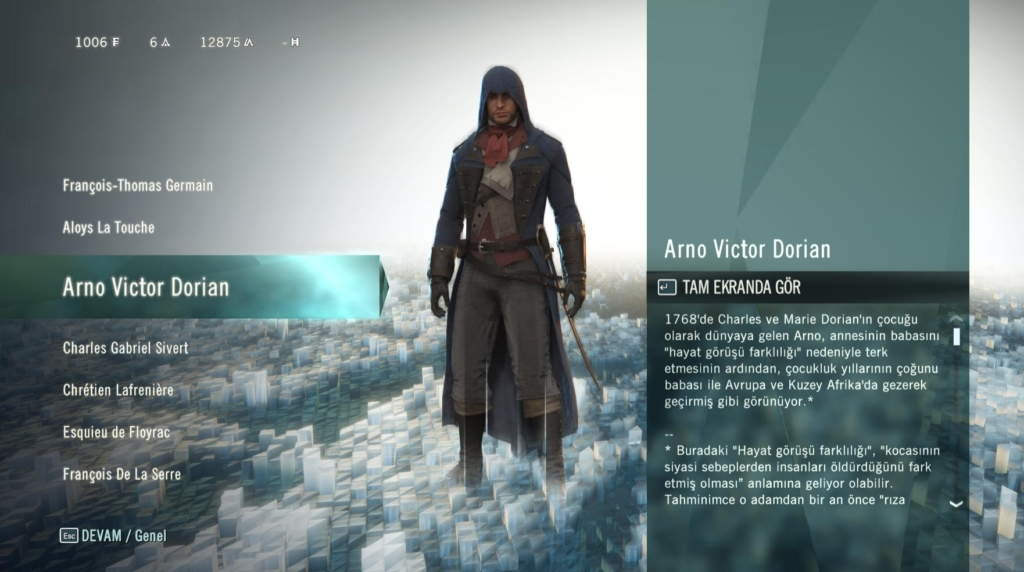 Assassins Creed Unity TRSS 3